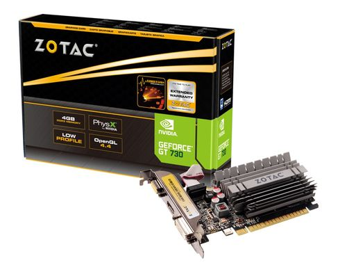 ZOTAC GT 730 4GB ZONE EDITION