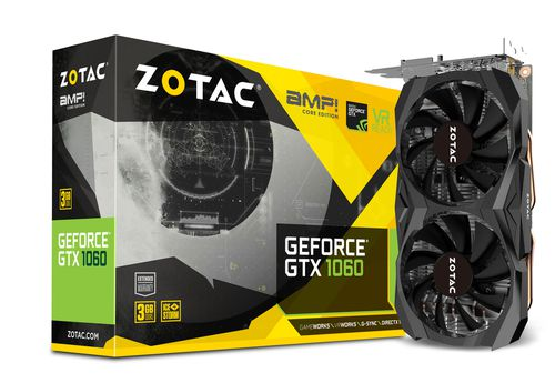 ZOTAC GTX 1060 3GB AMP EDITION