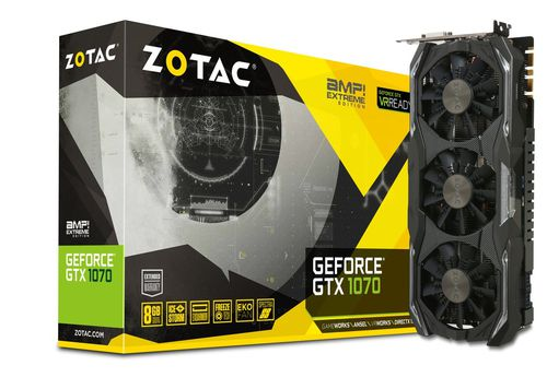 ZOTAC GTX 1070 8GB AMP EXTREME EDITION