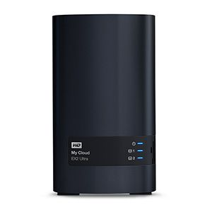 Ver WD CAJA SERVER NAS 2 BAHIAS 12TB MY CLOUD EX2 Ultra