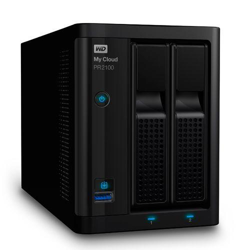 Ver Western Digital NAS 2 BAHIAS 3 5 My Cloud Pro PR2100 0TB My Cloud Pro