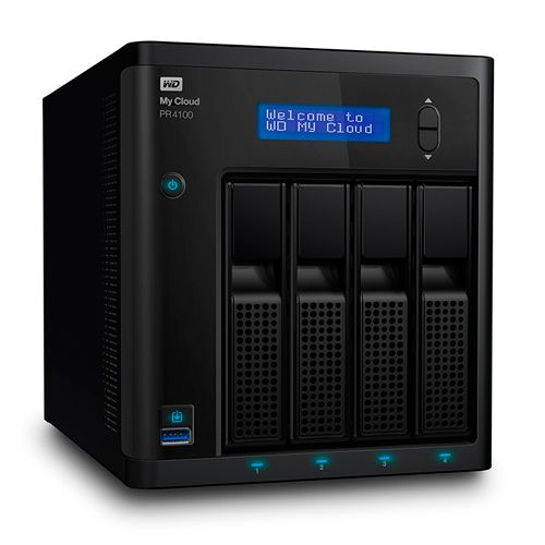 Ver Western Digital NAS 4 BAHIAS 3 5 My Cloud Pro PR4100 8TB  WDBNFA0080KBK EESN My Cloud Pro Series PR4100