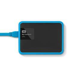 Ver WD Protector GRID Picasso para Passport 1TB Azul Cielo