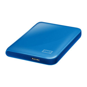 Wdigital Hd 25 500gb Usb 30 Passport Essential Azul