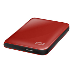 Wdigital Hd 25 500gb Usb 30 Passport Essential Rojo