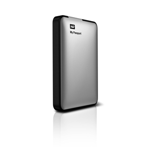 Western Digital Hdd Externo 500gb  25 Usb 30 My Passport Plata