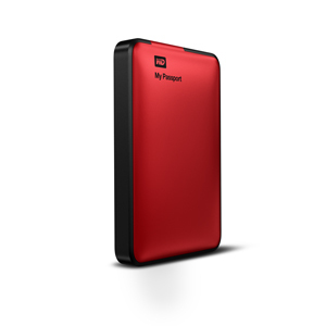 Western Digital Hdd Externo My Passport 1tb 25 Usb 30 Rojo