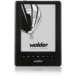 Wolder E-book Mibuk Essential Wifi Touch Funda Regalo   1000 Libros  D01eb0040