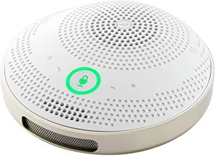 Yamaha Sistema De Conferencia Personal Usb Y Bluetooth Alimentado Por Bateria Recargable Blanco
