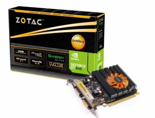 Zotac Geforce Gt 640 Synergy