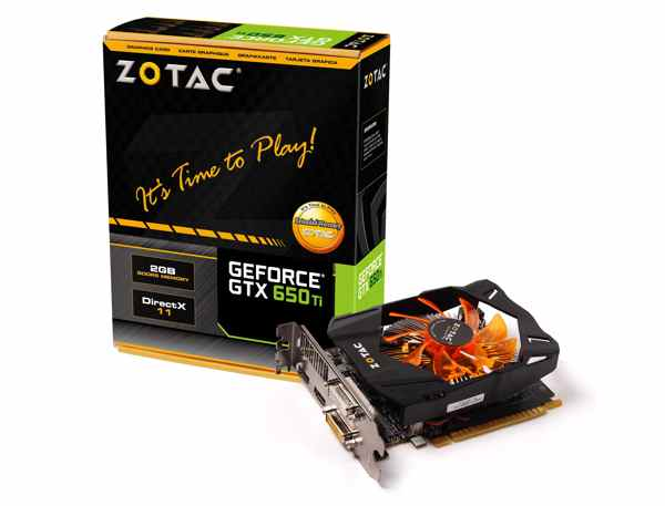 Zotac Geforce Gtx 650 Ti 2gb