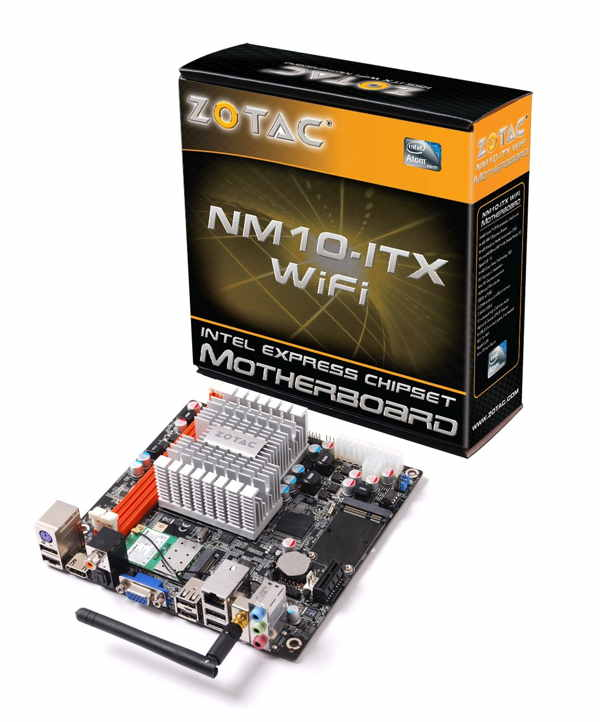 Zotac Placa Base Nm10-e-e Mini Itx Wifi