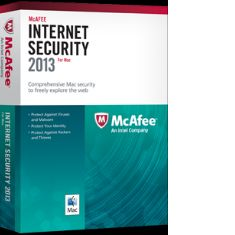 Antivirus Mcafee Internet Securiyt Dual Mac  Pc 2013