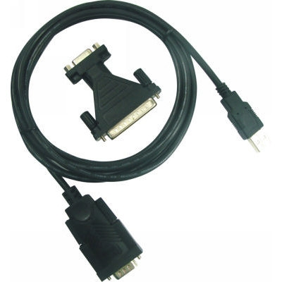 Cable Convertidor Usb 20 A Puerto Serie Db-9  Rs232  Cable Usb Incluido 80cm