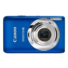 Camara Digital Canon Ixus 115 Hs Azul 121mp Zo 4x 3 Litio