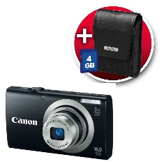 Camara Digital Canon Power Shot A2300 Negra 16mp