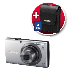 Camara Digital Canon Power Shot A2300 Plata 16mp
