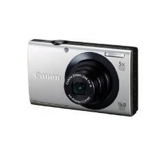 Camara Digital Canon Power Shot A3400 Is Plata 16mp Zo 5x 3 Litio