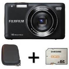 Camara Digital Fujifilm Finepix Jx550 Negro 16 Mp Zo X 5 Hd Lcd 27 Litio   Funda   Tarjeta 8gb