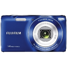 Camara Digital Fujifilm Finepix Jz100 Azul 14 Mp Zo X 8 Hd Lcd 27 Litio
