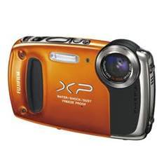 Camara Digital Fujifilm Finepix Xp-50 Naranja 14 Mp Zo X 5 Hd Lcd 27 Litio Acuatica 5 Metros