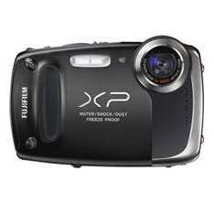 Camara Digital Fujifilm Finepix Xp-50 Negro 14 Mp Zo X 5 Hd Lcd 27 Litio Acuatica 5 Metros