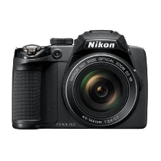 Camara Digital Nikon Coolpix P500 Negra 12 Mp Cmos Zo X 36 Vr Full Hd Kit 4gb  Funda Libro Lcd 3 Litio
