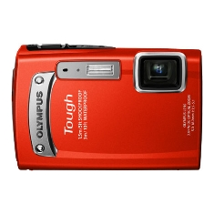 Camara Digital Olympus Tg-320 Roja Sumergible 14 Mp Zo X36 Hd Lcd 27 Litio