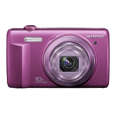 Camara Digital Olympus Vr-340 Lila 16 Mp Zo X10 Hd Lcd 3 Litio