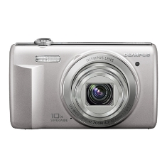Camara Digital Olympus Vr-340 Plata 16 Mp Zo X10 Hd Lcd 3 Litio