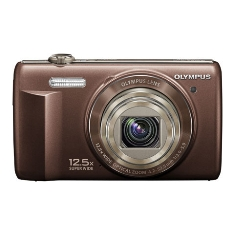 Camara Digital Olympus Vr-360 Marron 16 Mp Zo X125 Hd Lcd 3 Litio