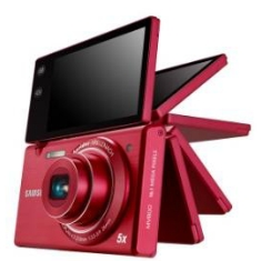 Camara Digital Samsung Mv800 Rojo