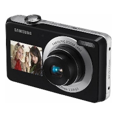 Camara Digital Samsung Pl120 Doble Pantalla 14mp  5x  2 Baterias   Funda
