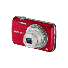 Camara Digital Samsung Pl20 Rojo 14mp 5x 27