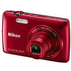Camara Digital Tactil Nikon Coolpix S4200 Rojo 16 Mp