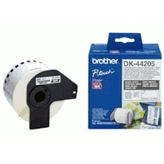 Cinta Continua Brother Papel Blanca Removible Dk44205 12mm Ql-560 Ql-570 Ql-580n Ql-1050 Ql-1060n