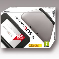 Consola Nintendo 3ds Xl Plata Sd   4gb