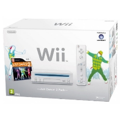 Consola Nintendo Wii   Just Dance 2
