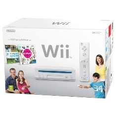 Consola Nintendo Wii Blanca   Wii Sport   Wii Party