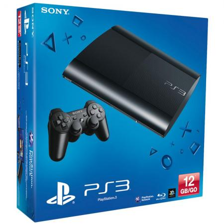 Consola Ps3 Slim 12gb Flash