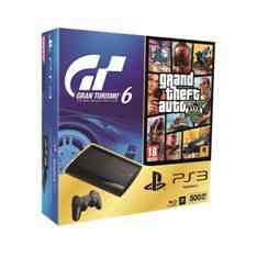 Consola Sony Ps3 500gb  Gt6  Gta V