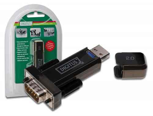 Convertidor Usb 20 A Puerto Serie Db 9  Rs232
