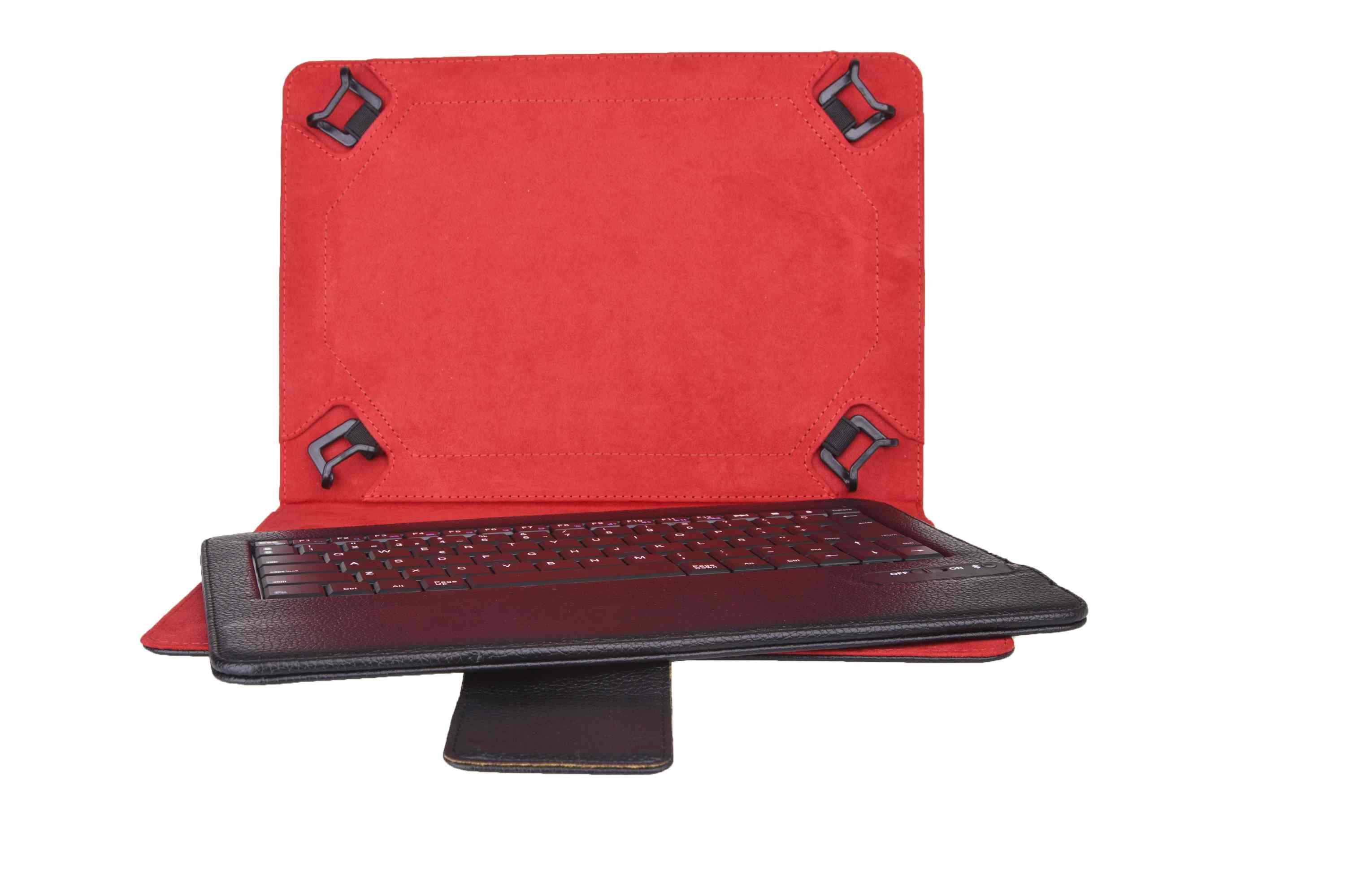 Funda Universal  Teclado Bluetooth Phoenix Para Tablet Ipad Ebook 7 8  Negra