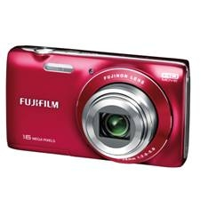 Kit Camara Digital Fujifilm Finepix Jz200 Rojo 16 Mp Zoom 8x Full Hd   8gb   Funda