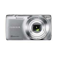 Kit Camara Digital Fujifilm Jz100 Plata 14 Mp Zo 8x Hd Lcd 27 Litio   Funda   Tarjeta 8gb
