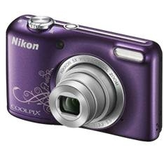 Kit Camara Digital Nikon Coolpix L27 Morado Arte 16 Mp Zo 6x Hd Lcd 27 Estuche