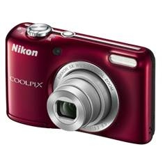 Kit Camara Digital Nikon Coolpix L27 Rojo