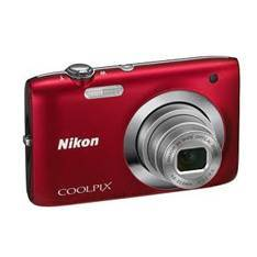 Kit Camara Digital Nikon Coolpix S2600 Rojo