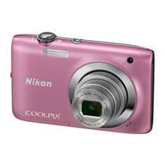 Kit Camara Digital Nikon Coolpix S2600 Rosa