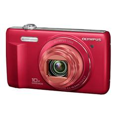 Kit Camara Digital Olympus Vr-340 Rojo